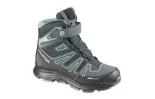 Salomon Junior Synapse Winter CS WP mineral grey/haze-x/blue